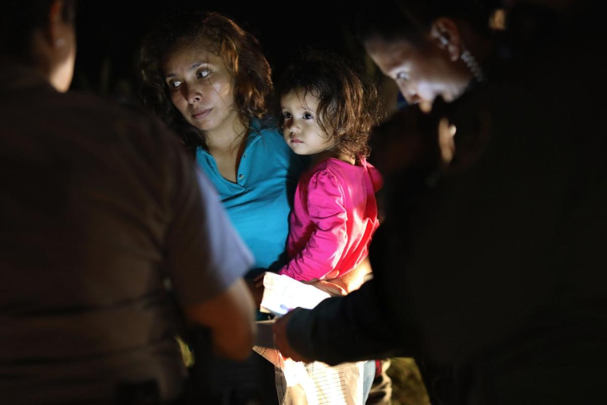 Migrants at the U.S. border