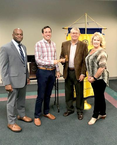 Talladega Rotary Club installs new president