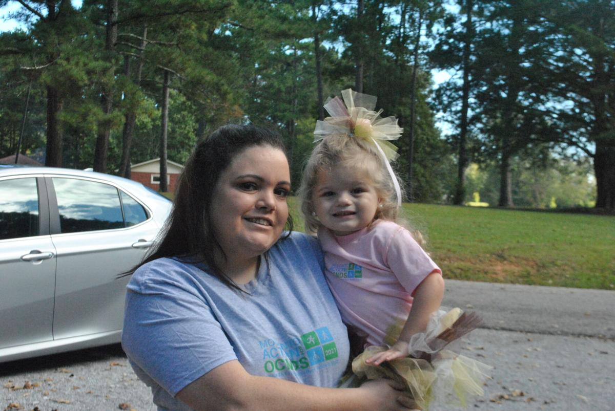 Springville family holds walk to promote awareness for rare disease