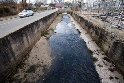Anniston stormwater drainage