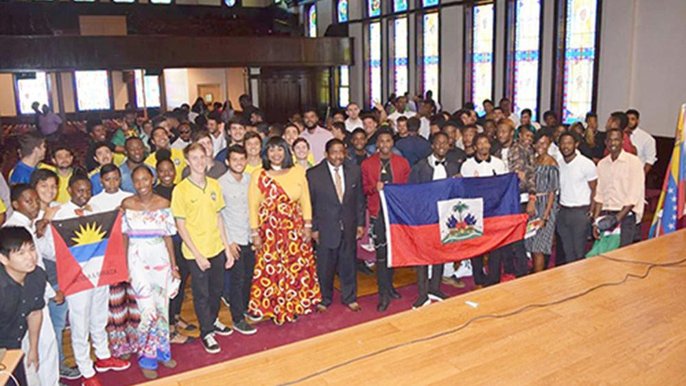 Talladega College holds welcoming event for its international students (photo gallery)