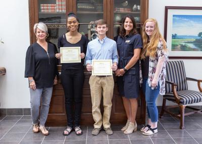 Pell City Chamber scholarship winners 2020