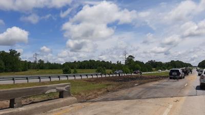 I-65 wreck site