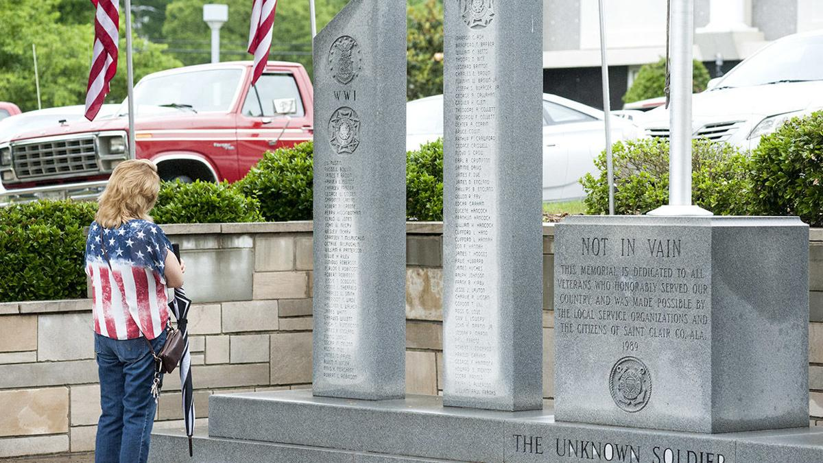 Scenes from Memorial Day program in Pell City (photo gallery)