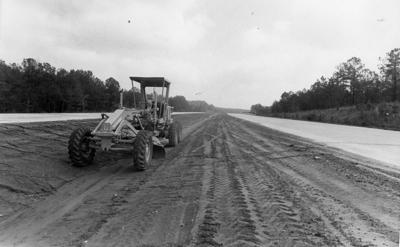 Interstate 20 construction
