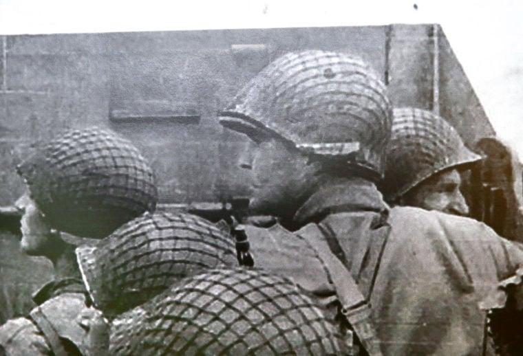 D-Day vet spots himself in photo at Berman