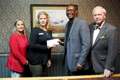 Modern Woodmen, Talladega Rotary Club donate $500 to Talladega High School