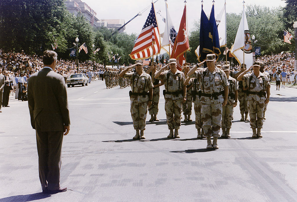 1991 military parade in Washington