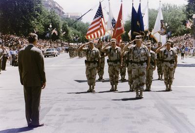1991 military parade in Washington