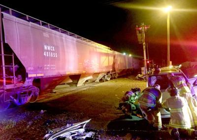 Car vs. Train on 6-19-19