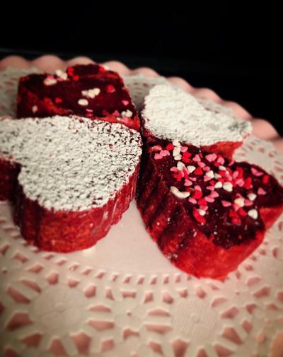 Red Velvet Cake Batter Fudge