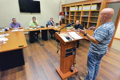 Commission hears from coroner-elect