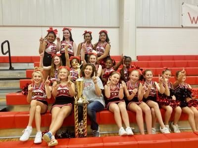 Heflin PARD cheerleaders