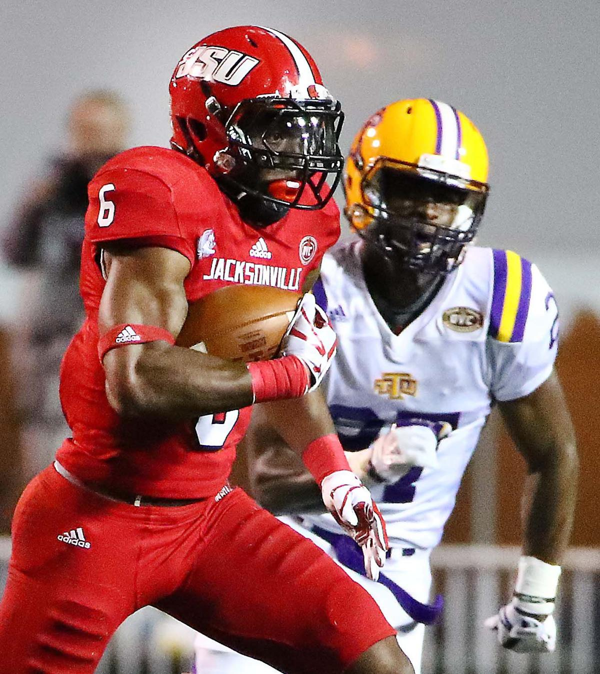 official photos dfce7 f5df6 JSU at Tennessee Tech Football Game | Slideshows ...