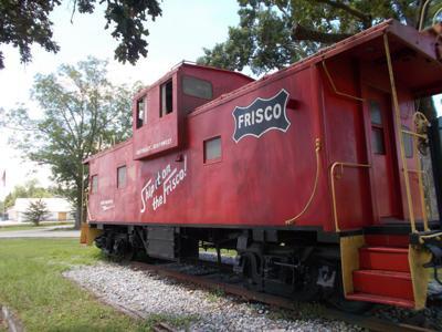 Frisco City caboose