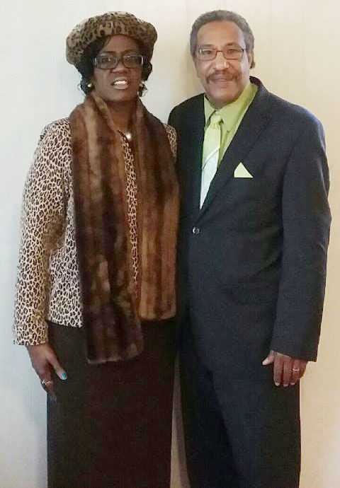 Rev. Dr. Jerry Jones and first lady Teresa Jones