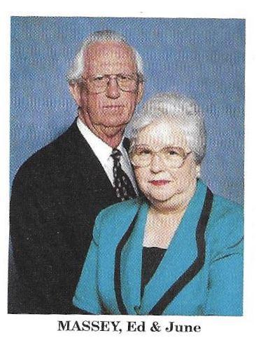 Ed and June Massey