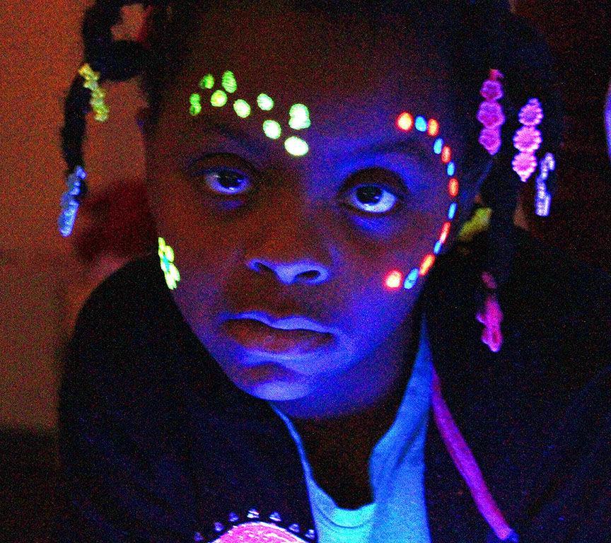 Neon Read On at Kitty Stone Elementary School