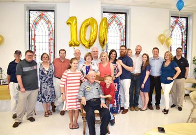 Edward Harrison celebrates 100th birthday