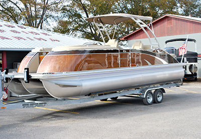 Special pontoon boat unveiled at Woods Surfside Marina
