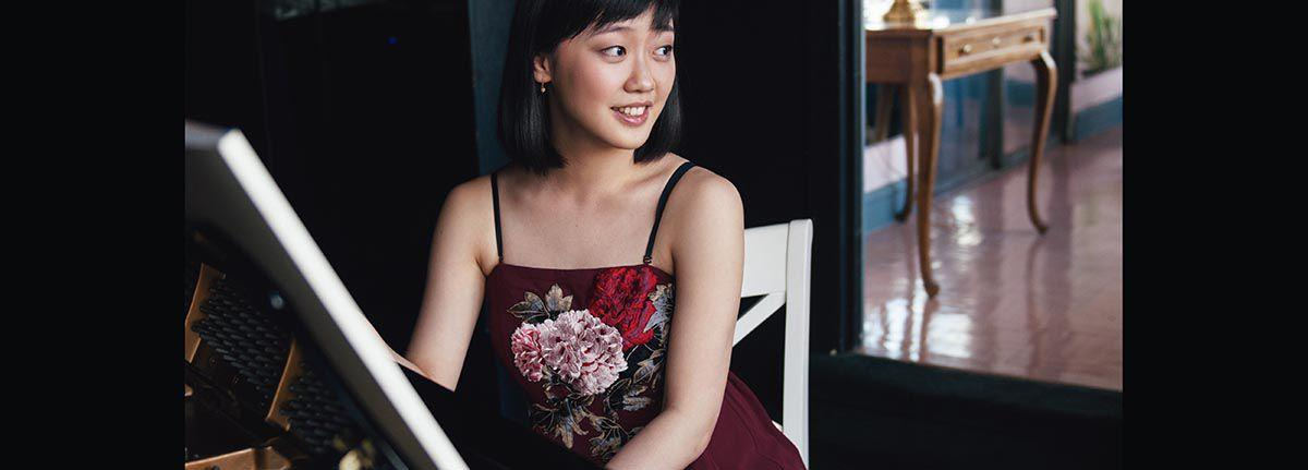 Chinese pianist Fei Fei