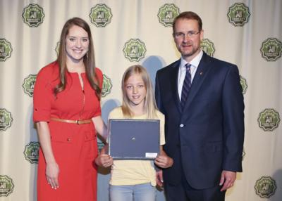 St. Clair County's Tetreault honored In statewide poster contest