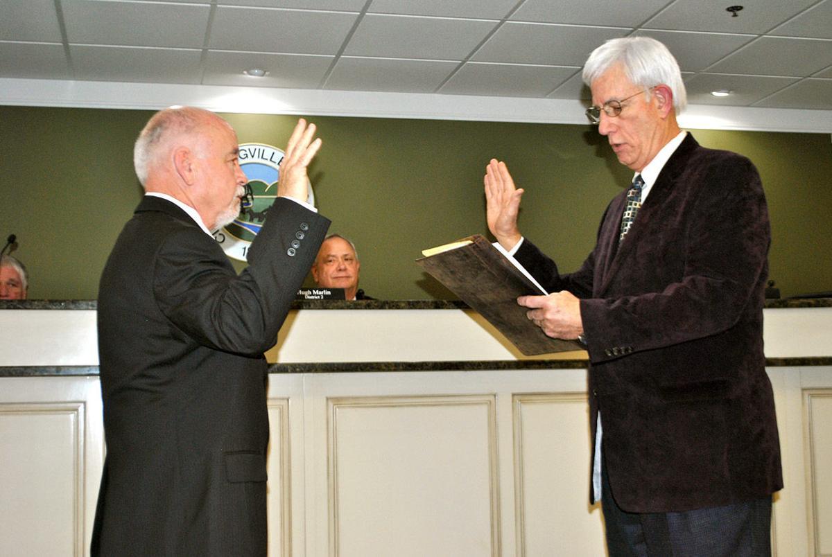 David Vinson sworn in as new Springville District 2 councilman