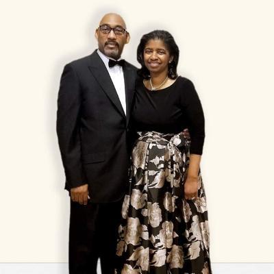 Pastor Anthony G. McKinney and first lady Regina McKinne