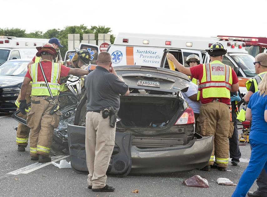 2-vehicle accident on 275 Bypass results in multiple