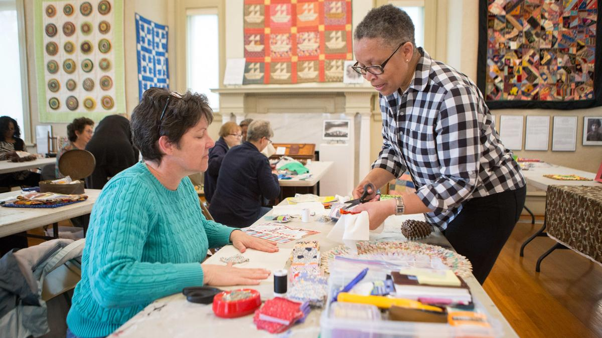 Pine Burr quilting workshop held at Heritage Hall (photo gallery)
