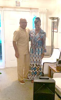 Dr. Angela M. Martin and Minister Victor N. Isaacs Sr.