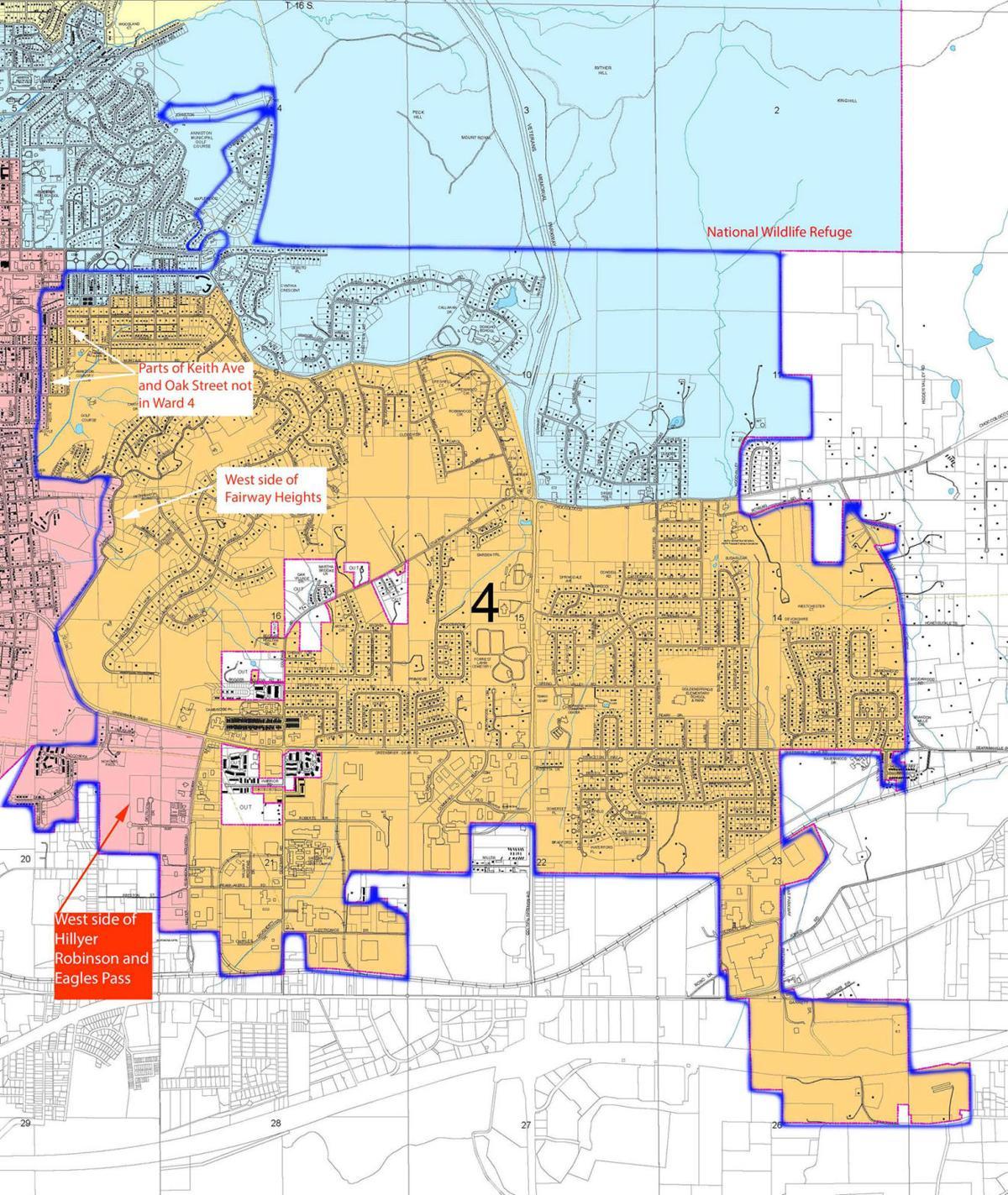 Ward 4 deannexation