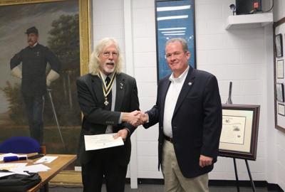 In Your Community ... Capt. L.G. Owens inducted into Sons of the American Revolution
