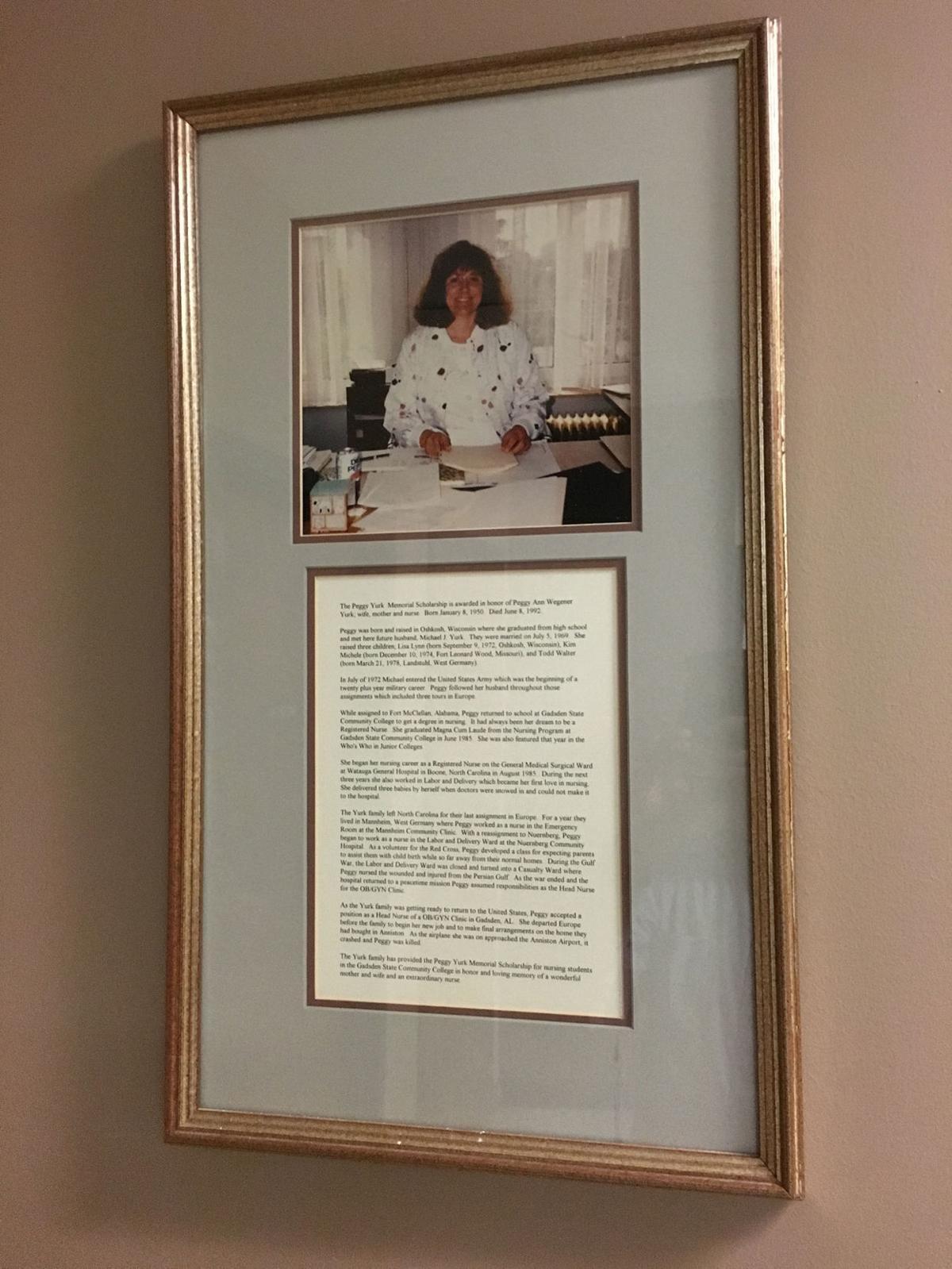 Peggy Yurk scholarship photo