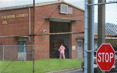 Jail Sally port