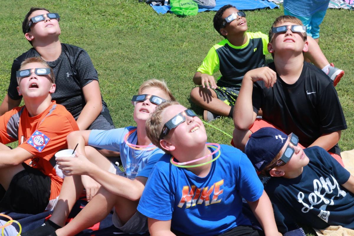 Eclipse at Alexandria