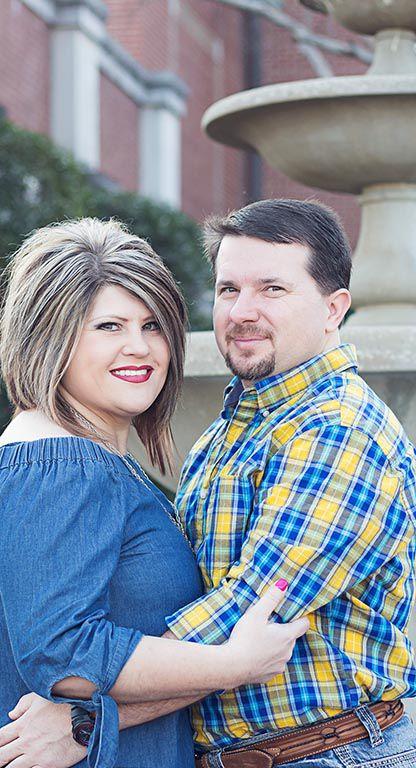 Kimberly Webb Martin and Jody Driver