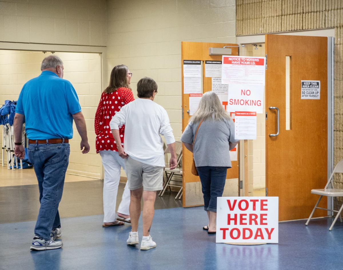 Voting in Talladega city elections 2019