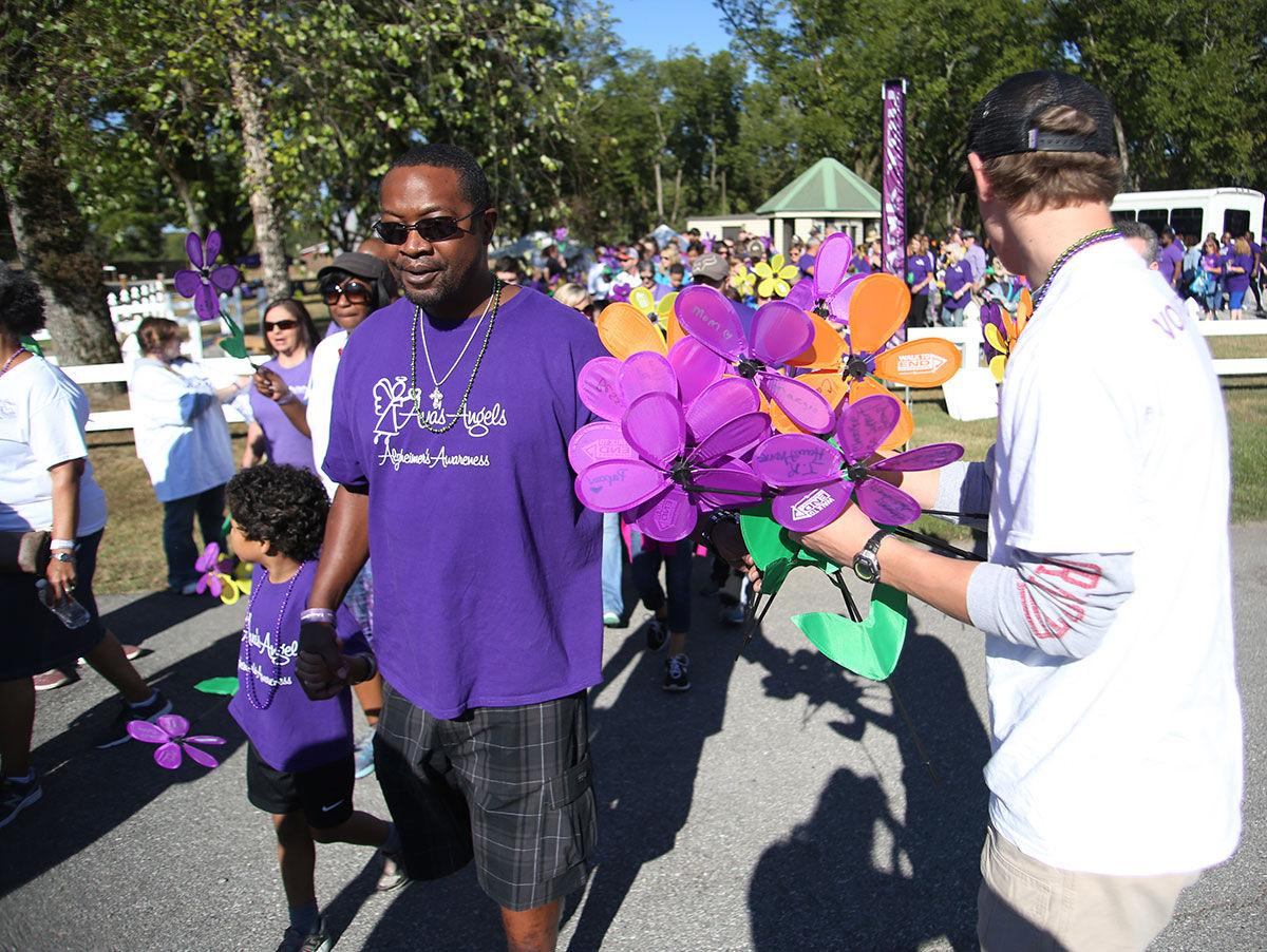 2016 Alzheimer's Awareness walk in Anniston