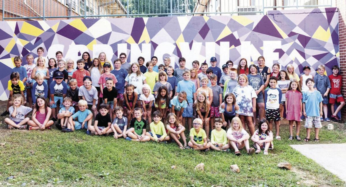 Springville Elementary mural