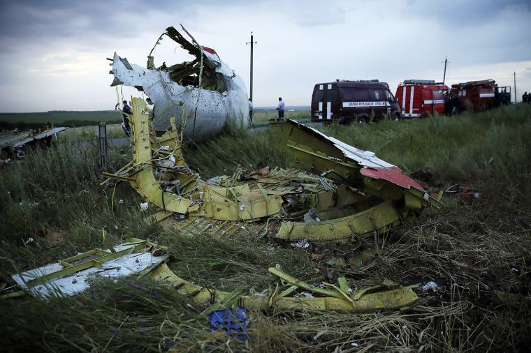 Malaysian Airline Crashes In Ukraine