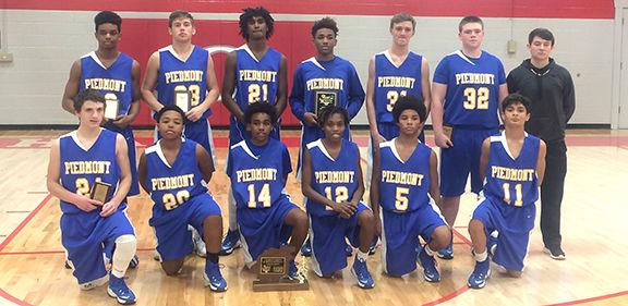 Piedmont boys dominate 1A-3A county tournament