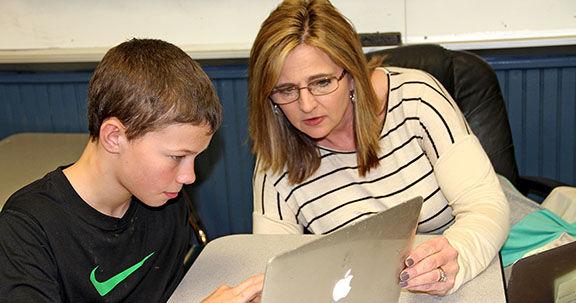 Darla Cooper named Teacher of the Year
