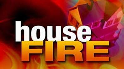 House fire logo