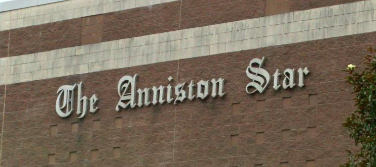 The Anniston Star sign