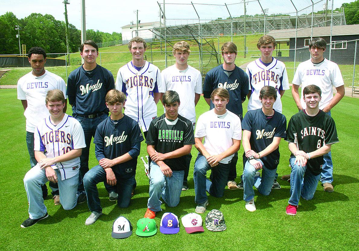 Alabama/saint clair county/ragland - 2015 All County Baseball Team