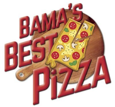 Bama's Best Pizza contest logo