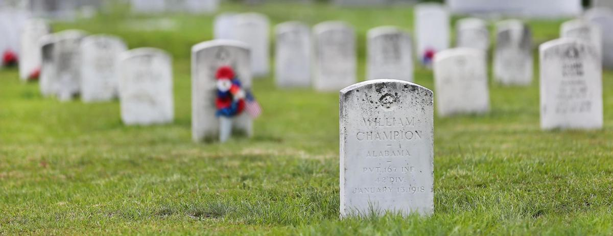 A century ago, the first man buried at Edgemont's military plot died in France