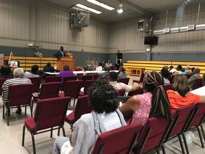 Hobson City meeting