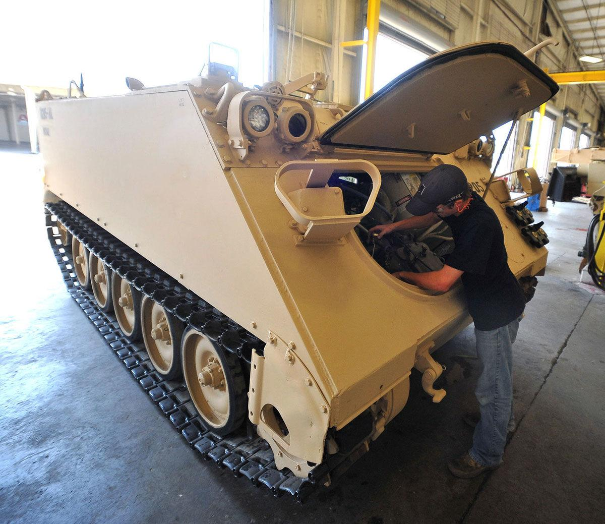 Army decision on armored vehicle could affect Anniston for decades